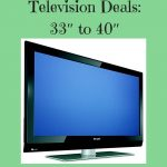 Television Deals 33 to 40