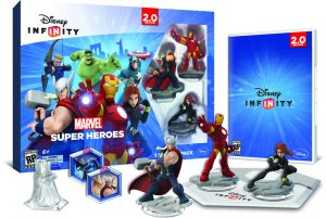 disney infinity marvel pack