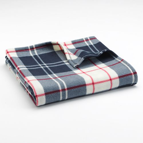 kohls fleece throw