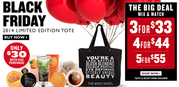 the body shop black friday now
