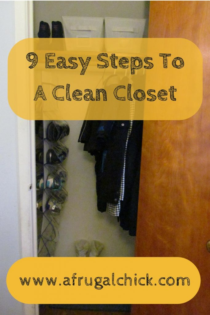 9 Easy Steps To A Clean Closet