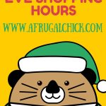 Christmas Eve Shopping Hours
