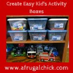 Create Easy Kid's Activity Boxes