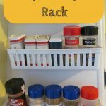 Easy DIY Spice Rack