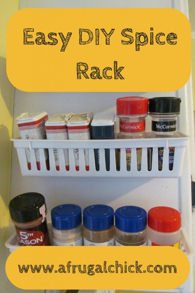 Exceptional Easy DIY Spice Rack