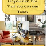Four Living Room Organization Tips That