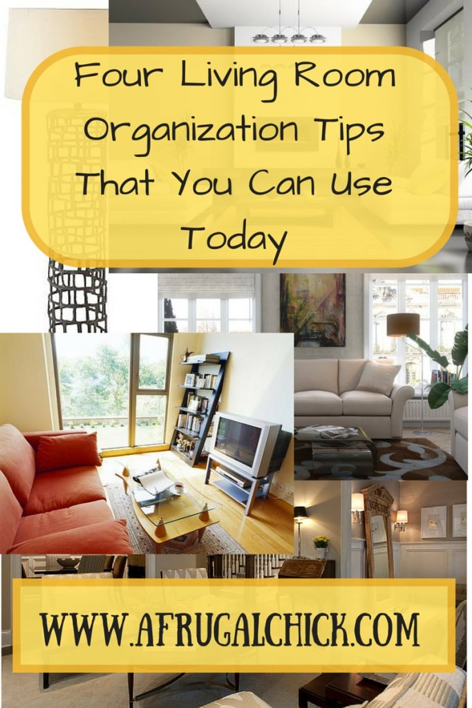 Four Living Room Organization Tips that You Can Use Today