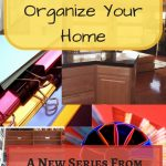 Frugal Ways To Organize Your Home Blog Graphic-Pinterest