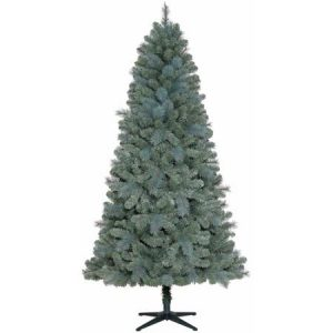 Holiday Time Non-Lit 7 Elwood Pine Christmas Tree, Blue Green