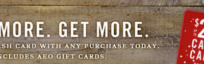 american eagle gift card deal