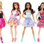 barbie four pack fashionista
