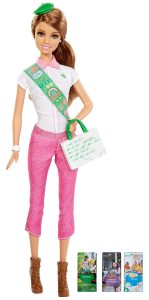 barbie loves girl scouts