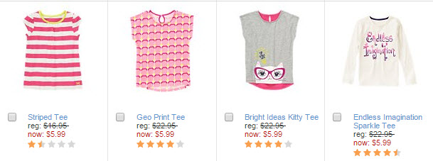 gymboree t-shirts