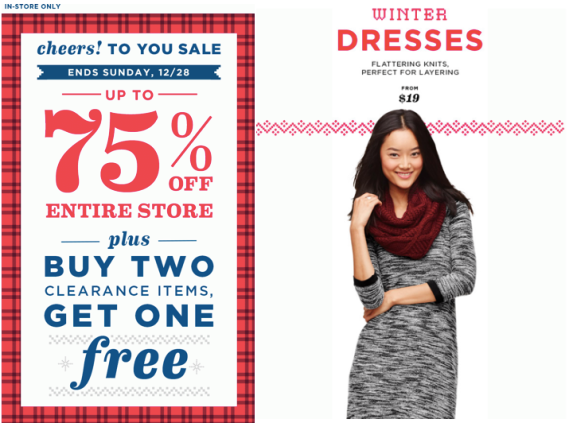 old navy semi annual sale