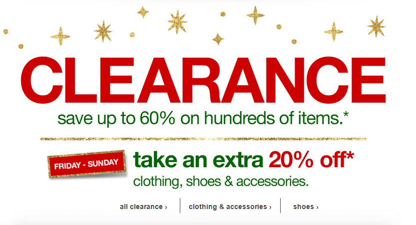 target clearance 2014