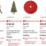 target holiday sale
