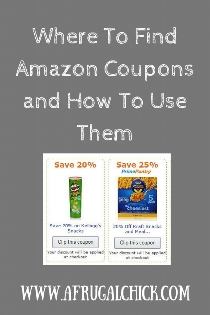 Amazon Coupons Online