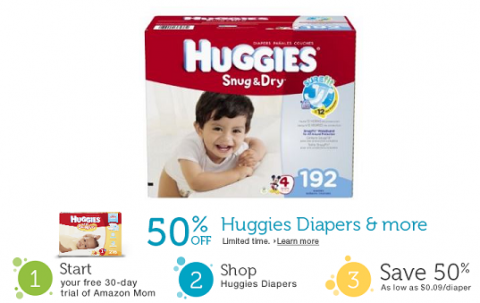 amazon mom huggies
