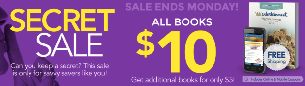 entertainment book secret sale