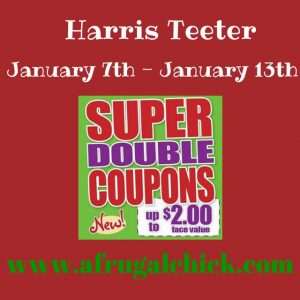 harris teeter super double coupons january 2015