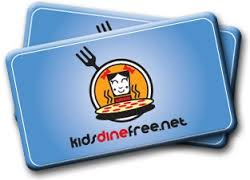 kids dine free card