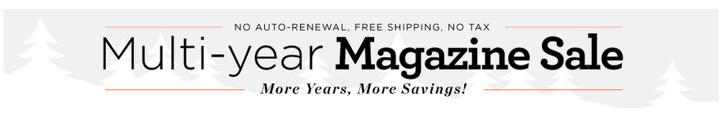 multi year magazine sale