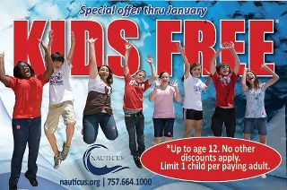 nauticus free january