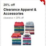 target cartwheel clearance 20 percent off