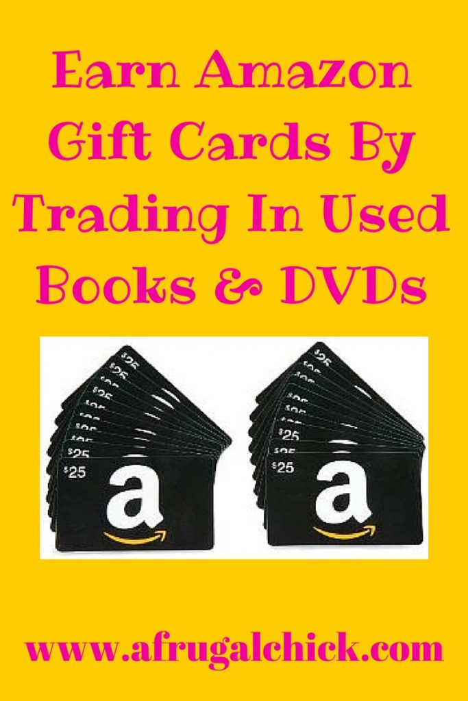 Earn Amazon Gift Cards By Trading In Books and DVDs