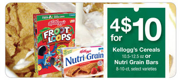 Farm Fresh Kellogg's cereals