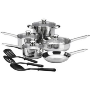 cooks cookware set jcpenney