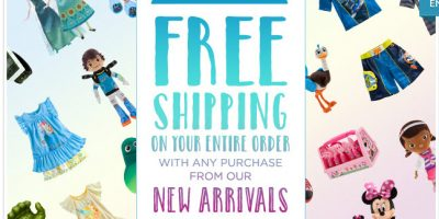 disney free shipping new arrivals