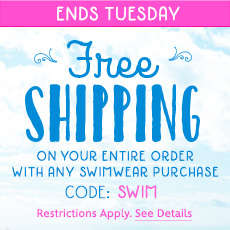 disney swimwear shipping