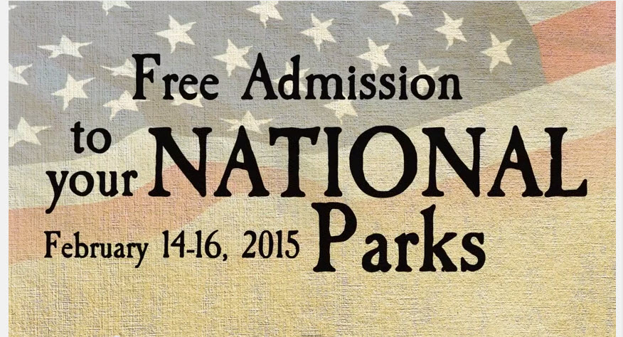 free admission national parks 2015