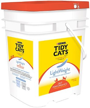 tidy cat lightweight litter