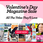 valentines day magazine sale