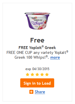 Kroger free yoplait digital coupon