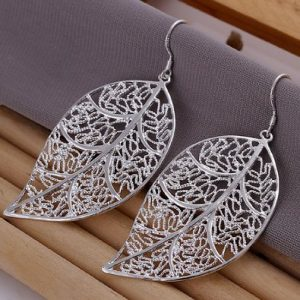big leaf earrings