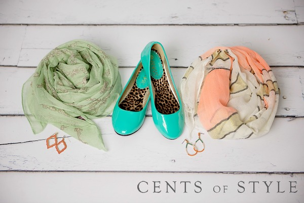 cents of style mint and peach 1