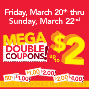 farm fresh mega doubles march 2015