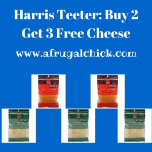 harris teeter buy 2 get 3 free cheese