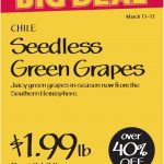 whole foods seedless grapes