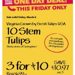 whole foods ten stem tulips
