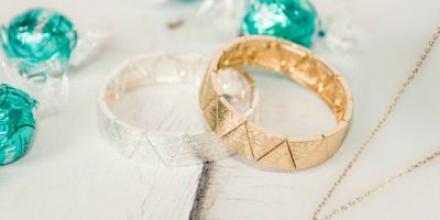 cents of style triangle bracelet