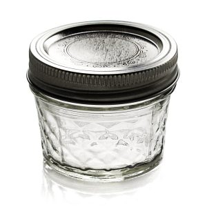 crystal jelly jar