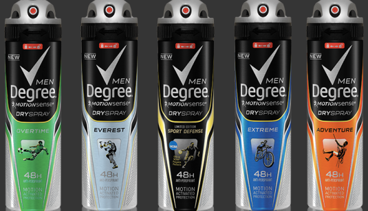 degree motion sense spray