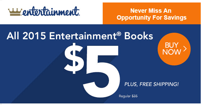 entertainment books five dollars