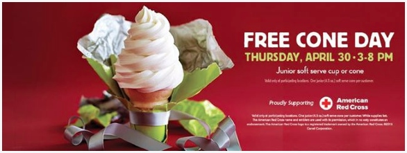 free junior cone carvel