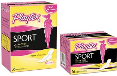 playtex sports pads
