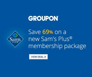 sams groupon deal